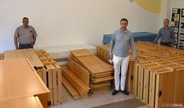 Jugendhof-Möbel finden neues Zuhause bei bedürftigen Familien in Rumänien