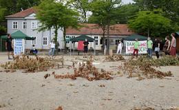 24-Stunden-Mahnwache: Aktivisten kämpfen weiter für den Dannenröder Forst