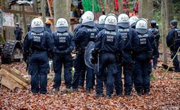 Einsatz am Freitag im Dannenröder Forst: Räumung eines Camps beendet