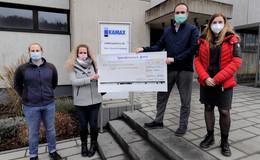 Kamax-Beschäftigte spenden 5.000 Euro für den guten Zweck