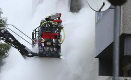 Wohnungsbrand im Osthessen-Center: Feuer gelöscht - Keine Verletzten