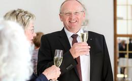 Fuldische Stadtpromis danken Banker Manfred Gerhard - Bilderserie