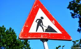 Sanierung der Fahrbahnoberfläche in Baumbach