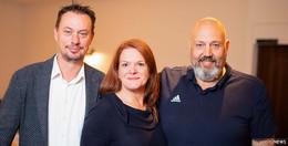 Vorstandswechsel: Anders, Rausch und Reith nun an der BNI-Spitze