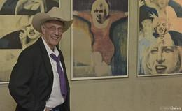 Pop Art Künster James Francis Gill wieder zu Gast bei Bilder-Fuchs
