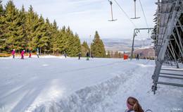 Winterwonderland in der Rhön: endlich wieder Skifahren