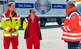 DRK Fulda hilft HELFEN! MdL Markus Meysner besucht Koordinationszentrum