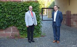 Martin Grosch übergibt sein Amt an Frank Steinacker
