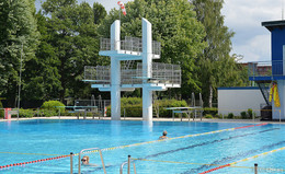 Fuldaer Rosenbad ab dem 7. September geschlossen