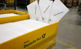 Deutsche Post bearbeitet rund 360.000 Wahlbenachrichtigungen