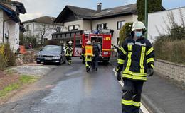 Gartenhütte brennt: Mann erleidet Verbrennungen im Gesicht