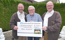 Hopperain-Spieler aus Blankenau spendeten insgesamt 1.200 Euro