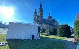 Denkmal am Dom wird saniert: Großenlüderer Fachfirma übernimmt Arbeiten