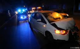 Auffahrunfall auf der Bundesstraße - Autofahrerin leicht verletzt