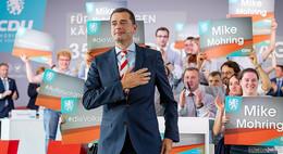 CDU-Chef Mike Mohring gibt Landesvorsitz in Thüringen beim Parteitag ab