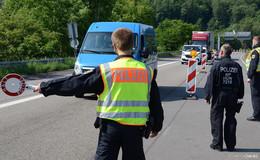 Bundespolizei Hünfeld während der Corona-Pandemie in der Grenzüberwachung