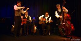 Ladscho Swing – finest GypsyJazz & more brillierten in der Kunststation