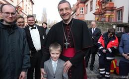 Großer Empfang nach Festgottesdienst - Bilderserie von Bernd Vogt