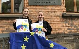 Marienschule: 17 Preisträgerinnen beim Europäischen Wettbewerb 2019