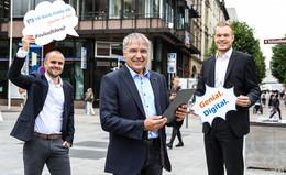 VR Bank Fulda baut kostenloses WLAN in Fulda massiv aus