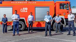 131.850 Euro vom Land Hessen für neues Tanklöschfahrzeug