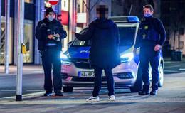 An Silvester: Polizei zeigt verstärkt Präsenz - Kontrolle der Ausgangssperre