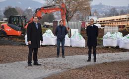 Neugestaltung Tiergarten Neuenberg schreitet mit großen Schritten voran