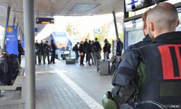 40 Angehörige dabei: Bundespolizei übt Umgang mit gewaltbereiten Fußballfans