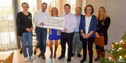 Feinbäckerei Nolte spendet 2.500 Euro an die Stiftung Hospital