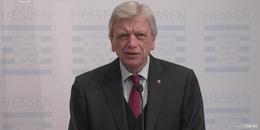 Hessen-MP Bouffier: Beschränkungen bis nach Ostern - Keine Maskenpflicht