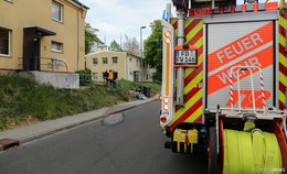 Plötzlich schmorte der Fernseher - Feuerwehreinsatz in Neuenberg