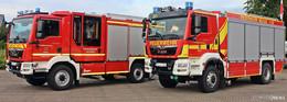 Meilenstein: Zwei neue Löschfahrzeuge für die Feuerwehr
