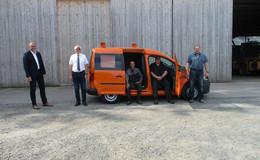 Ein neues Fahrzeug für die Abwasserentsorgung der Marktgemeinde