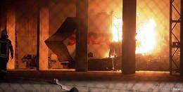 Zündeten A49-Gegner die Maschine an? Polizei ermittelt wegen Brandstiftung