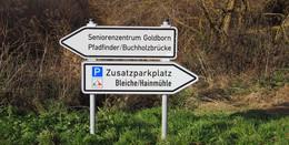 Einrichtung eines Zusatzparkplatzes für die Schächerbachtour abgeschlossen