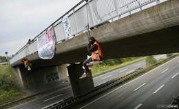 Nach Autobahnbesetzung im Oktober: Ermittlungen teilweise eingestellt