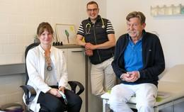 Allgemeinmediziner Stephan Kufner verstärkt das Team von Hausärzte MKK