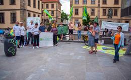 Die Klimawette radelt: Bundesweite Mitmachaktion macht Halt in Barockstadt