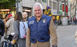 Über 17 Jahre das Gesicht der Polizei: Pressesprecher Martin Schäfer