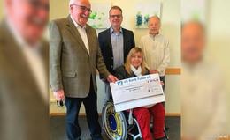 Großzügige Spende von 8.576 Euro an den Seniorenförderverein St. Lioba