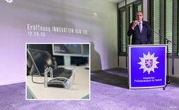Innenminister eröffnet INNOVATION HUB 110 der hessischen Polizei