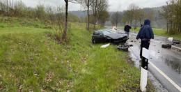 BMW-Fahrer (21) wird bei Crash leicht verletzt