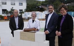 Grundsteinlegung für ein stationäres Hospiz in Rotenburg an der Fulda