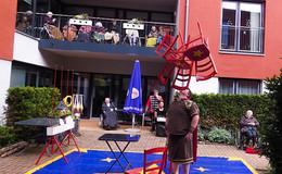Zirkus begeistert mit Vorführungen in Mediana-Einrichtungen