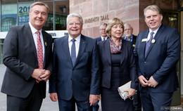 175 Jahre Hanauer Geschichtsverein: Joachim Gauck zu Gast in Brüder-Grimm-Stadt