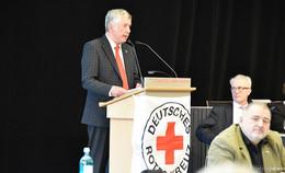 DRK-Landesverband wählt neuen Vorstand: Norbert Södler bleibt Präsident