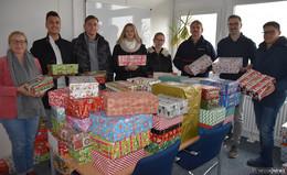 Konrad-Adenauer-Schule sammelt Weihnachtspäckchen für Osteuropa