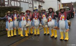 Höhepunkt der Kampagne: Rosensonntagsumzug in Hainzell