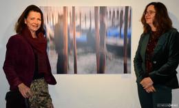 Claudia Haarmann und Kathrin Gebhardt Nieselt lassen Spielraum für eigene Gedanken