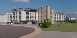 Neues Wohn- und Geschäftshaus THE CURVE soll im Herbst 2021 fertig sein